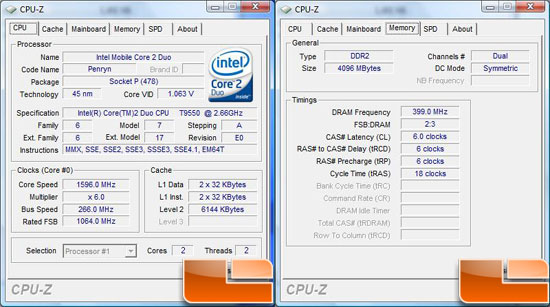 ASUS N81Vp Notebook CPU-Z