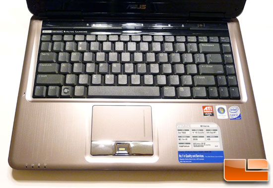 ASUS N81Vp Notebook Keyboard
