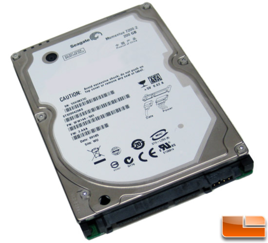 Seagate Momentus 7200.2 200GB Notebook Hard Drive