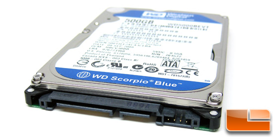 Western Digital Scorpio Blue 500GB Hard Drive Jumper