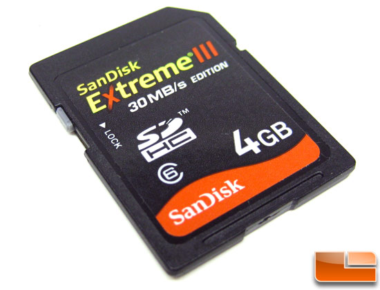 SanDisk Extreme III 4GB SDSDX3-004G-A31 Retail Bundle