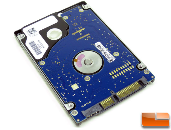Seagate Momentus 7200.3 320GB Hard Drive Back