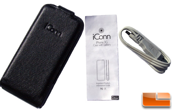 iConn+ packaging contents