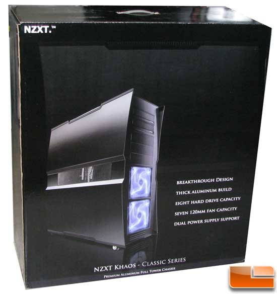 NZXT Khoas Full Tower Welded ATX Aluminium Case Retail Box