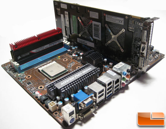 MSI 790GX G65 Motherboard with HD 4870x2 and Corsair Dominator GT