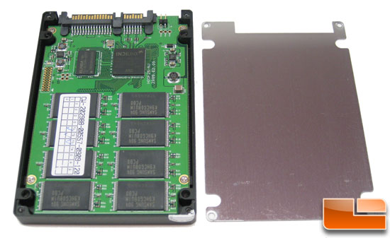 OCZ Vertex 120GB SSD Inside