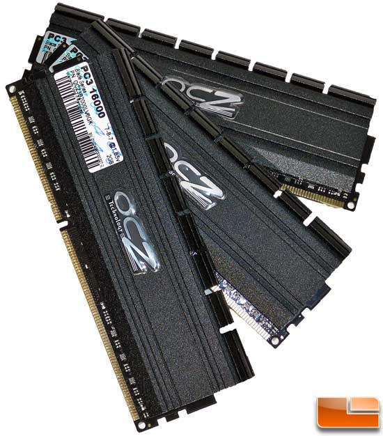 OCZ Blade DDR3 6GB 2000MHz Memory Review
