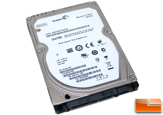 Seagate Momentus 7200.4 500GB Notebook Hard Drive