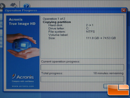 Kingston SSD Drive Cloning With Acronis True Image HD Software
