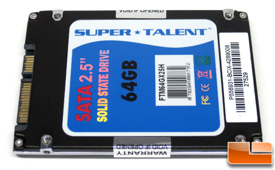 Super Talent UltraDrive ME 64GB SSD FTM64GX25H back