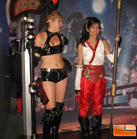 E3 2009 Booth Babes Finally a succubus to be proud of