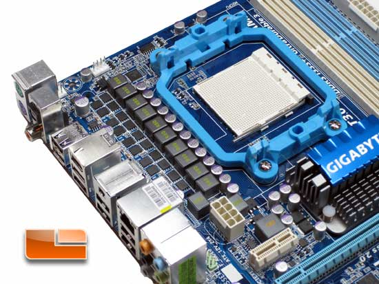 Gigabyte A-MA770T-UD3P Motherboard Review