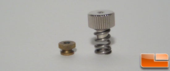 Koolance CPU-LN2 thumb-screw versus F1EE thumb-screw