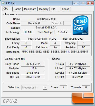 EVGA E761 X58 Classified 220bclk