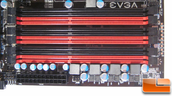 EVGA Classified E761 DIMM Slots