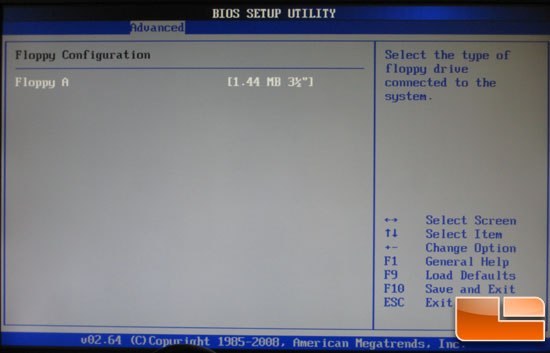 ASRock M3A780GXH Floppy Options