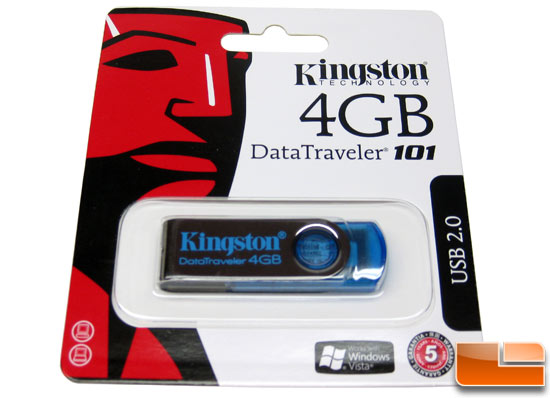 Kingston DataTraveler 101 USB 2.0 Flash Drive