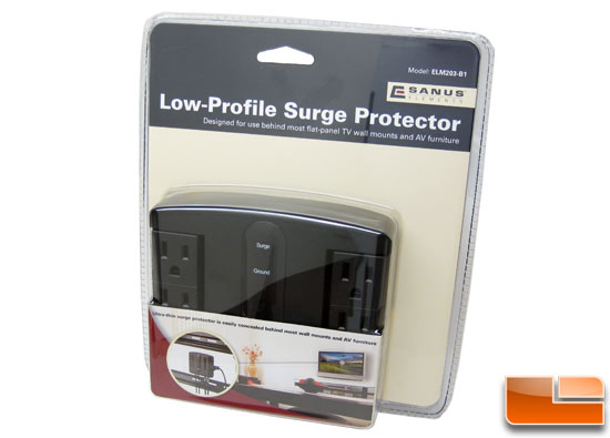 Sanus Low Profile ELM203 Surge Protector Review