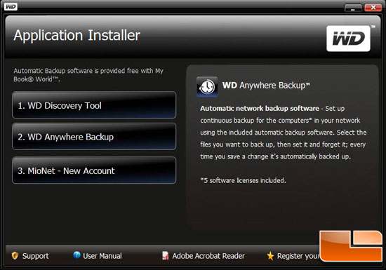 WD My Book World Edition II 2TB Anywhere Data Backup