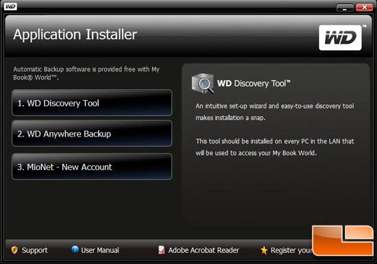 WD My Book World Edition II 2TB Setup Step 4