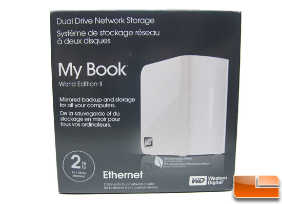 WD 2TB My Book World Edition II