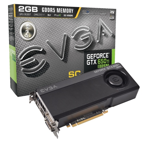EVGA GeForce GTX 650 Ti Boost SC