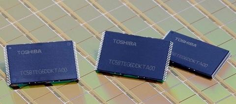Toshiba 19nm NAND