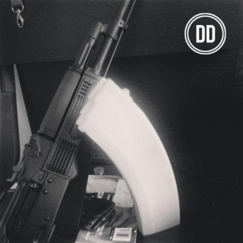 3D Printed AK47 Magazine by Defense Dirstributed