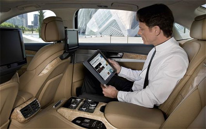 Audi A8 with WiFi