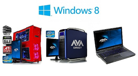 AVADirect Windows 8 PCs
