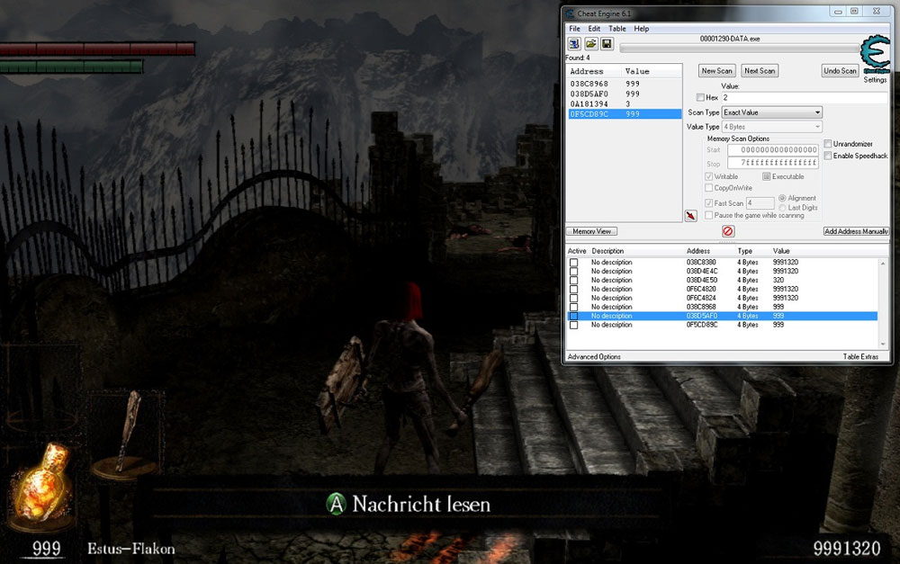 Dark Souls Cheat Engine
