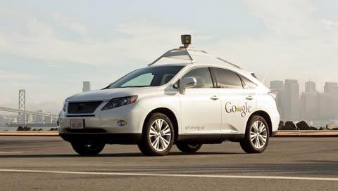 Google's Driver-less Lexus