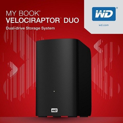 WD My Book VelociRaptor Duo