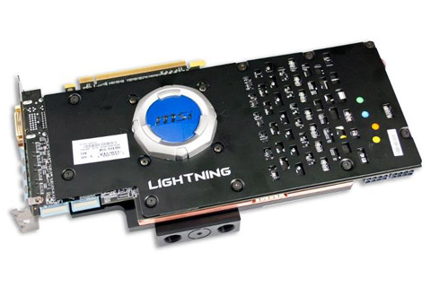 MSI Radeon HD 7970 Lightning Water Block Back