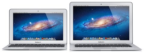 Upgraded 11 & 13 inch MacBook Air laptops
