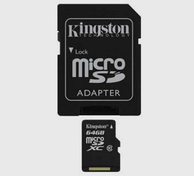 Kingston microSDXC Class 10 card