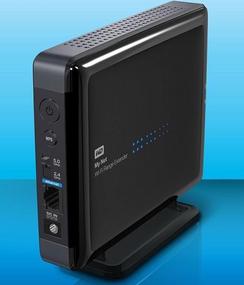 WD My Net Wi-Fi Range Extender