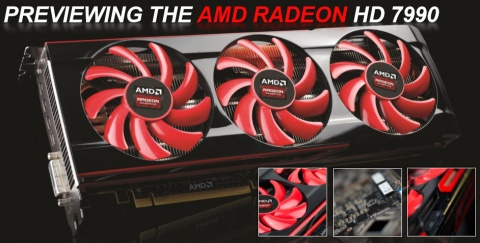 AMD Radeon HD 7990 Malta Video Card
