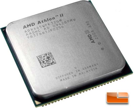 AMD Athlon II X3 445 3.1GHz Triple Core Processor