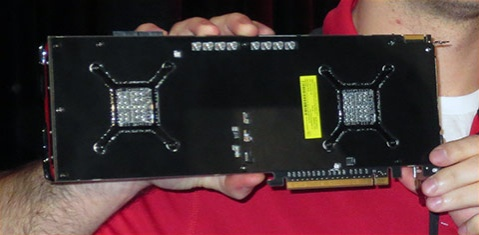 AMD Malta Video Card Back