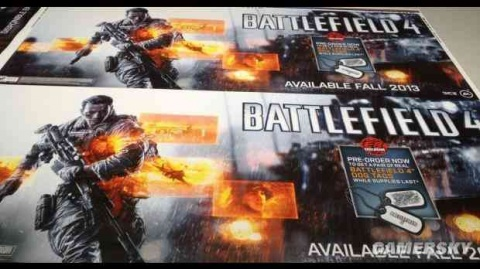 Battlefield 4 Game Poster