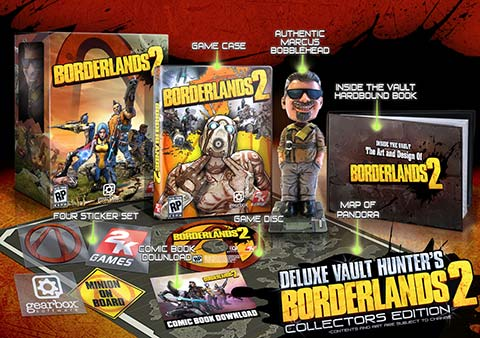 Borderlands 2 Deluxe Vault Hunter Collection