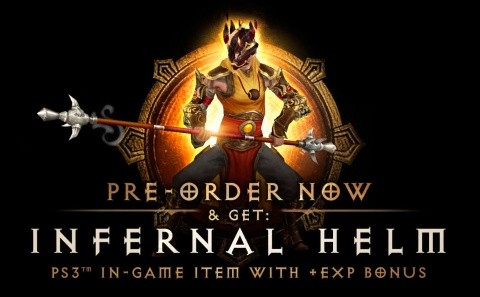 Blizzard Diablo III Pre-Order with Infernal Helm
