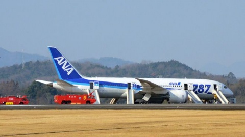 ANA Boeing 787 Emergency