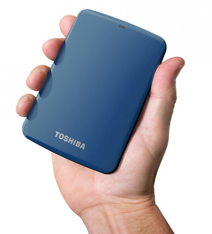 Toshiba Canvio Connect Hard Drive