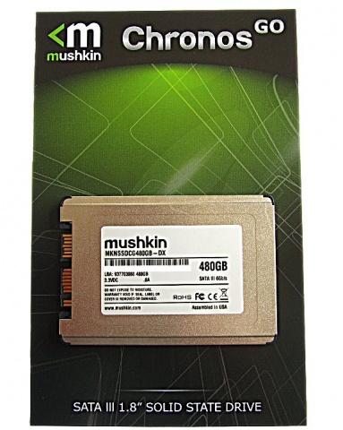 Mushkin 1.8-Inch Chronos GO Deluxe SSD