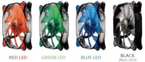 COUGAR Dual X LED fans
