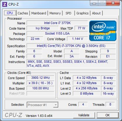 CPU-Z 1.63