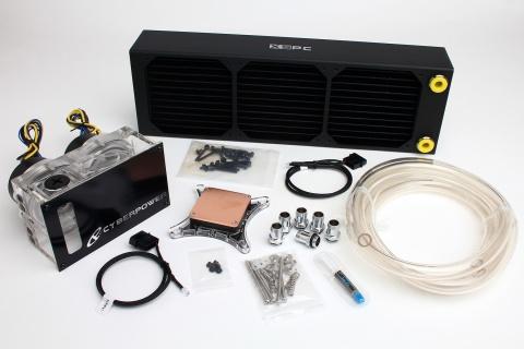 cyberpowerpc xtreme hydro ii liquid cooling kit