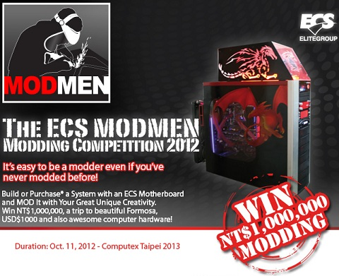 ECS Modmen PC modding competition
